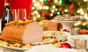 Al Wahda All Day Dining at Grand Millennium Al Wahda: Christmas Eve Dinner or Day Brunch with Beverages for Up to Four at Grand Millennium Al Wahda (Up to 54% Off)