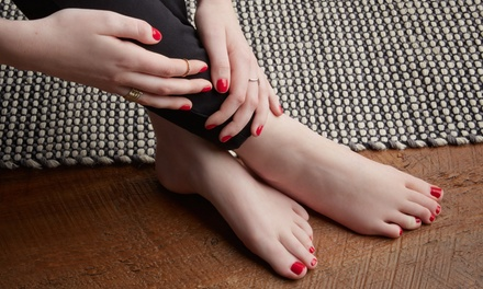One Regular Manicure, Deluxe Pedicure, or Both at POSH (Up to 30% Off)