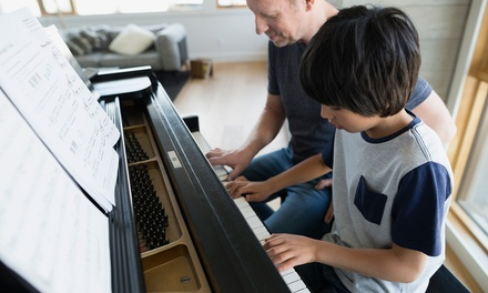 4, 8 o 12 clases en un mes a elegir entre batería o piano desde