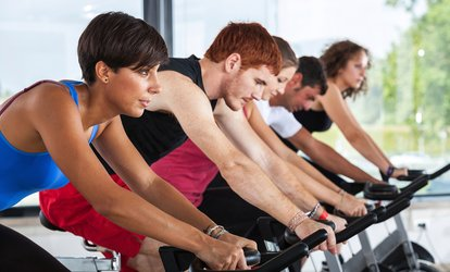 Five or Ten <strong>Spinning</strong> Classes at Blue Barre and Dance Fitness (Up to 50% Off)