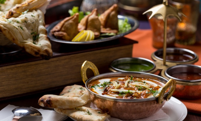 Sigree Bar and Grill - Frisco Bridges North: Indian Dinner Cuisine for Dine-In or Carryout at Sigree Bar & Grill (Up to 40% Off)