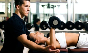Gold's Gym: One Month of Access with Two Personal-Training Sessions for One or Two at Gold's Gym (Up to 94% Off)