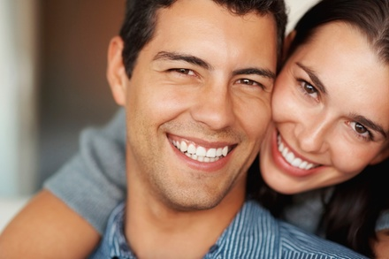 Dental Exam or Laser Teeth Whitening at Smile Design Dental Spa (Up to 90% Off)