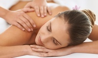Back, Neck and Shoulder Massage, and Radio Frequency Skin-Tightening Facial at ARA Aesthetics (74% Off)