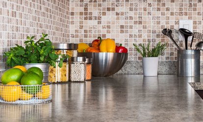 $2,974 for Up to 40 Square Feet of Quartz Countertops with Installation ($4,500 Value)