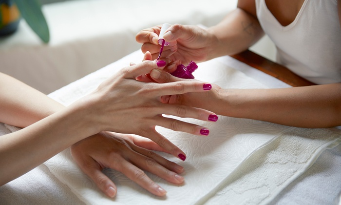 Put the 'man' into manicure with a pedicure