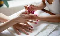Shellac Manicure, Pedicure or Both at Bradford Nails (Up to 73% Off)