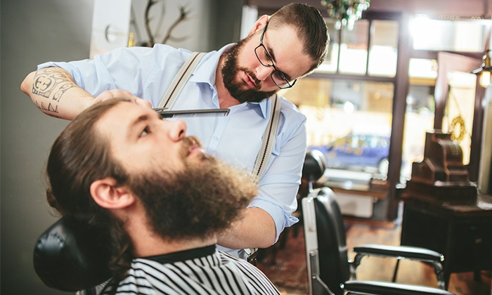 PJ's Barber Shop - South Buffalo: One or Two Men's Premium Haircut or a Premium Cut with a Premium Shave at PJ's Barber Shop (Up to 52% Off)