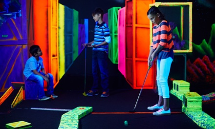 18-Hole Extreme Mini-Golf Round or Extreme Fun Pass for Two, Four, or Six at Putters Wild (Up to 39% Off)