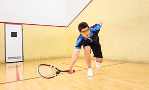 5, 10 o 15 clases particulares de squash en club deportivo desde 19,95 € junto al campus de Fuentenueva
