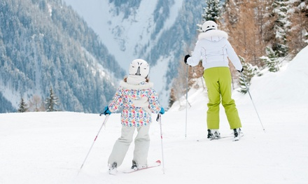 Ski or Snowboard Beginners' Lesson for Up to Four at Swadlincote Ski Centre