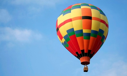 Hot Air Balloon Ride for One or Two with Sparkling-Cider Toast from Valley Ballooning (Up to 44% Off)