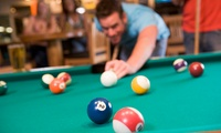 American Pool or Gaming with a Burger Meal for Up to Six People at 8Trix (Up to $56 Off)