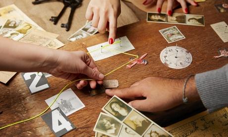 Juego de escape 'Misión Cold War' para 2 a 6 personas por 39,95 € en Enigmas Room