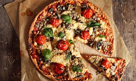 Vegan or Vegetarian 3Course Italian + Drink for Two $39 or Four $78 at Veggie Choice Pizza and Pasta Up to $161