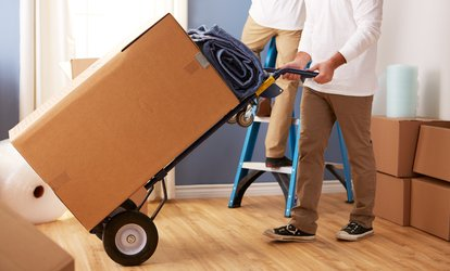 image for $228 for Two Hours of Moving <strong>Services</strong> with Two Men and Truck from Call First Movers ($825 Value)