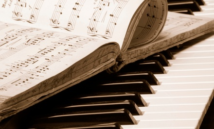 Four Private Beginner Piano Lessons or Introductory Music Theory Lessons at Cadenza Music (50% Off)