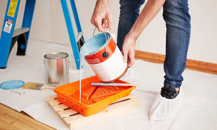 Imbiancatura fino a 150 m² comprensiva di materiali e vernice con l'Impresa Edile Kamal