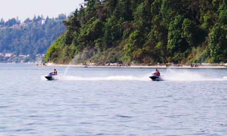 Ruta en 1 o 2 motos acuáticas durante 30 minutos o 1 hora desde 39,90 € en Liberty Wings
