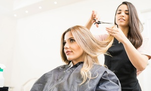 Hair by Jess: Wash, Cut and Blow-Dry with Optional Half- or Full-Head Highlights or Full-Head Colour at Hair by Jess (Up to 67% Off)