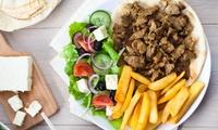 Griechisches 3-Gänge-Menü mit Gyros oder Soutzouki für Zwei oder Vier im Restaurant Beim Dimi (bis zu 57% sparen*)