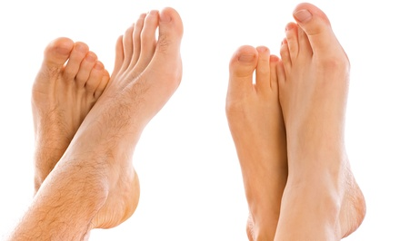 Laser Toenail-Fungus Removal for 5 or 10 Toes at Ageless Beauty Skincare Clinic (Up to 72% Off)