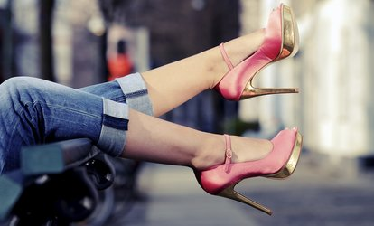 image for Footwear, Purse, and Luggage Repair at Cobblestone Shoe Hospital (Up to 55%  Off). Three Options Available.