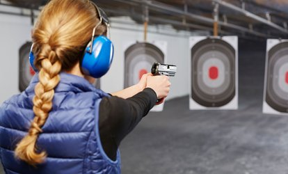 $60 for an All-Day <strong>Range</strong> Package with Equipment Rental for Two at Poway Weapons & Gear <strong>Range</strong> ($99 Value)