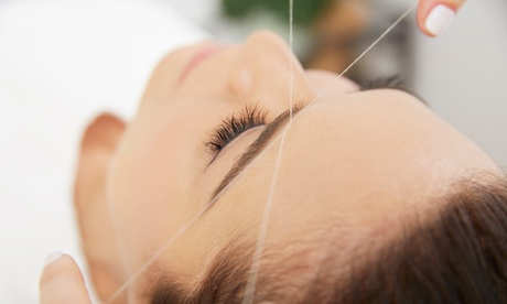 One or Three Eyebrow Threading Sessions from Treat Spa (Up to 61% Off). Four Options Available. 8bc377d4-262b-44ef-aa4b-4dd05dd6b77d