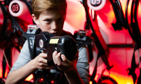 Laser Fun Package for Two or Four at Laser Web Dayton (Up to 27% Off)
