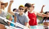 RI Party Boat - Potowomut: Narragansett Bay Sunset Cruise Tour for One, Two, or Four