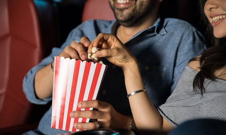 Two or Four Adult General-Admission Tickets and Popcorns at Apple Cinemas Simsbury (Up to 28% Off)
