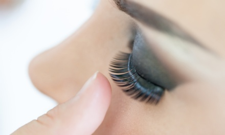 Full Set of Classic or Volume Eyelash Extensions with Optional Fill at Blue October (Up to 66% Off)