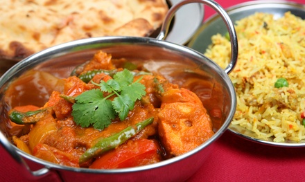 Curry and Grill Meal for Up to Four at Rose Restaurant (Up to 61% Off)