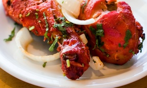 Dhaniya Drums Indian Food: Indian Cuisine for Dine-In or Takeout, or Lunch Buffet for Two at Dhaniya Drums Indian Food (Up to 40% Off)