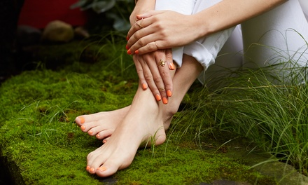One or Three Mani-Pedis at Botanicals Salon & Spa (Up to 49% Off)
