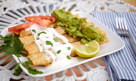 Mexican Food at Wholly Guacamole! (40% Off). Two Options Available.