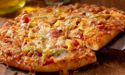 2 o 4 pizzas a elegir con bebida para 2 o 4 personas desde 6,90 € en Komo Pizza