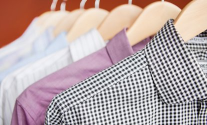 image for Suit, Dress or Coat Dry Cleaning or 12-kg Load Wash, Dry and Fold from Canvey Ironing & Laundry (Up to 50% Off)