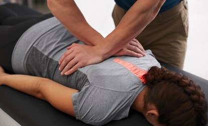 image for Injury Assessment and Treatment or Sports Massage at CJ's AIM (67% Off)