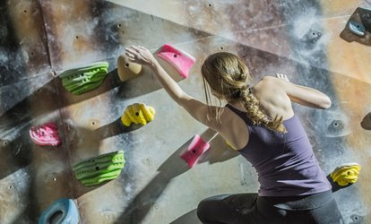 image for Indoor Rock Climbing Session or Four-Week Rock Climbing Course for One or Two at Rope Race Climbing Centre (40% Off)
