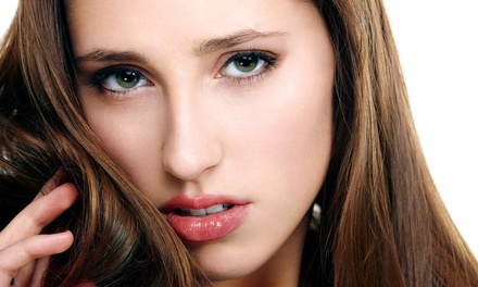 Brazilian Blowout & Condition, Root Retouch, or Color & Condition at The Color Room Salon (Up to 77% Off)