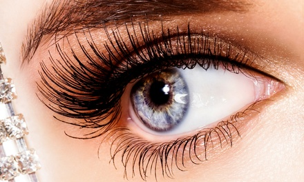 Full Set of Silk Eyelash Extensions with One or Three Fills at KaraBella Spa (Up to 72% Off)