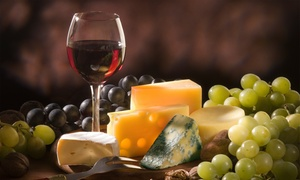 The Mottly Brew: Wine and Cheese Tasting for Two or Four at The Mottly Brew