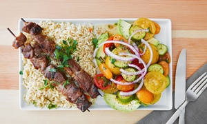 Kebaba Turkish Grill Bar: $19 for $30 or $36 for $60 to Spend on Turkish Food and Drink at Kebaba Turkish Grill Bar