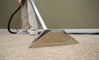 Carpet Cleaning for Three or Five Rooms from Big Guys Carpet Care (Up to 66% Off)