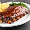 Menu en 4 services avec steak ou travers de porc