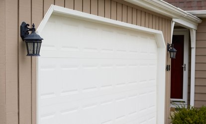 image for Garage Door Services from aviya's garage door (Up to 76%  Off). Two Options Available.