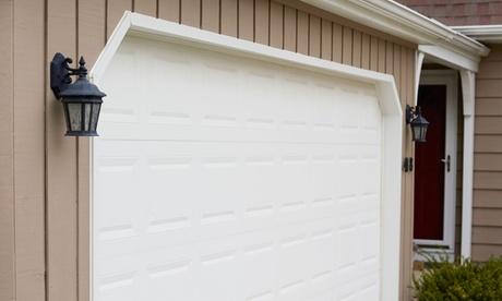 Garage Door Tune-Up with Optional Roller Replacement from A1 Garage Door Service (Up to 68% Off)