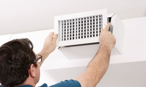 Ventilation JS: C$135 for a Full Cleaning of an Air Exchanger System from Ventilation JS (C$300 Value)